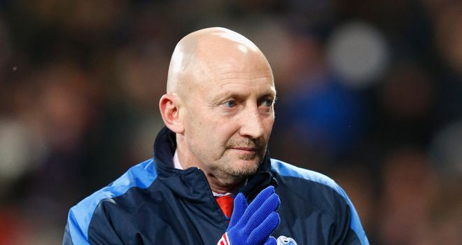 Ian Holloway: Deflated after late Forest goal denies Palace three points at City Ground.