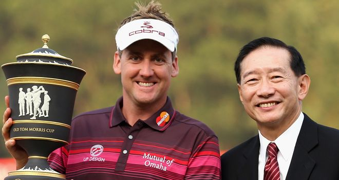 Ian Poulter: Crowned 2012 champion on the Olazabal Course at Mission Hills