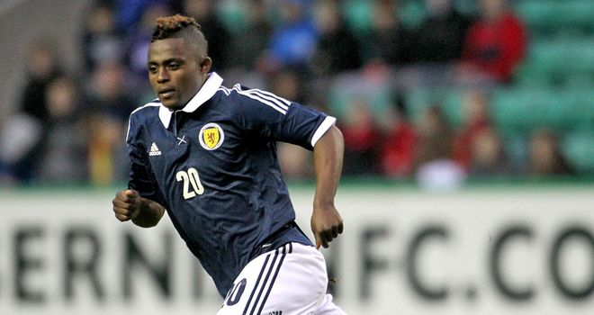 Remember the name: Chelseas Islam Feruz (17) scores twice for Scotland U21s v Portugal