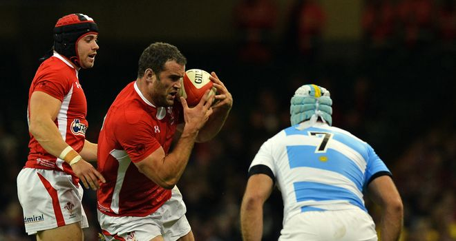 Jamie Roberts: Wales centre confident he will be fit to take on Samoa