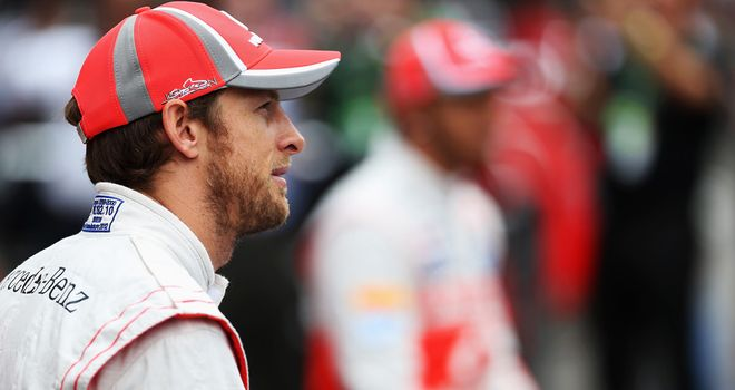 Jenson Button: Becomes McLaren's clear senior driver in 2013