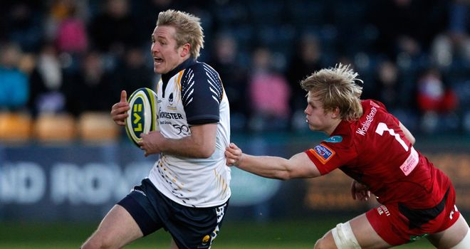 Joe Carlisle (left): Joining Wasps in the summer