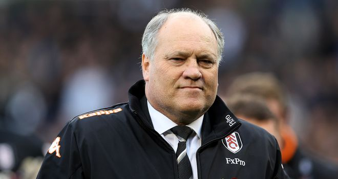 Martin Jol: Happy with a point against Everton