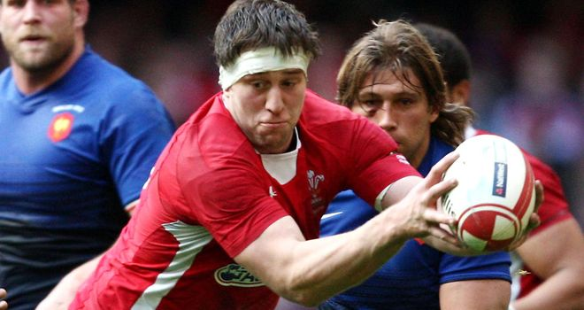 Ryan Jones: skippered Wales to victory over France