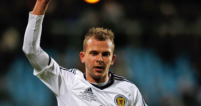 Jordan Rhodes: Says he wants Scotland to avoid entering the history books for the wrong reasons