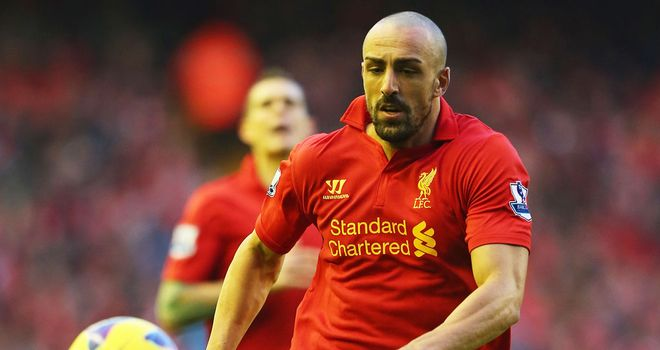 Jose Enrique: Spaniard has been in impressive form for Liverpool of late