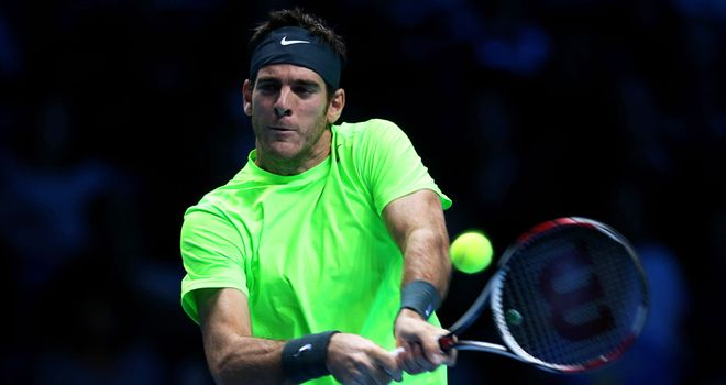 Juan Martin Del Potro: Still alive in the race for the semi-final places
