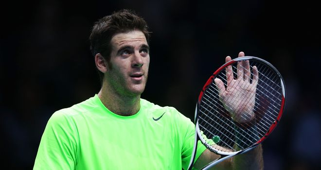 Del Potro: Cruised past an unwell Tipsarevic