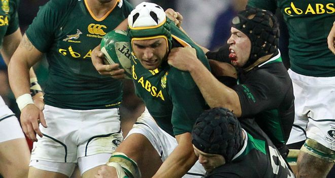 Juandre Kruger: Back in the Springboks starting XV