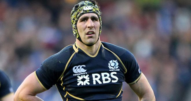 Kelly Brown: To skipper Scots in 2013 Six Nations opener