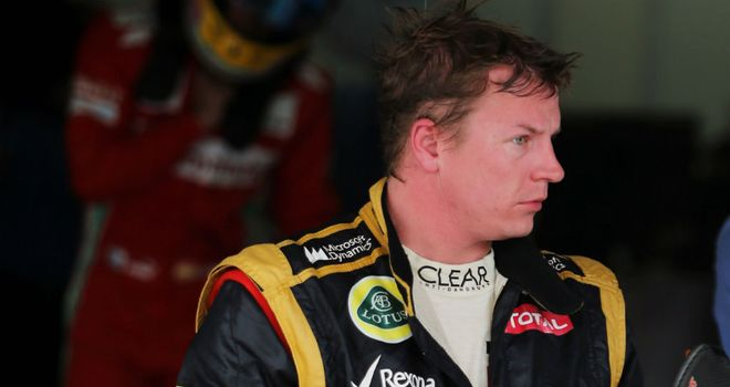 Kimi Raikkonen: Came out of winter hibernation on Day Three