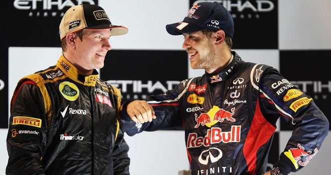 Kimi Raikkonen and Sebastian Vettel: Mind your language warning for F1 duo