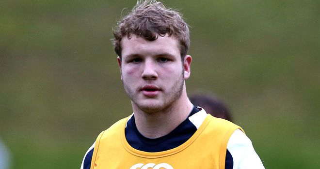 Joe Launchbury: Selected in England squad to face Fiji on Saturday