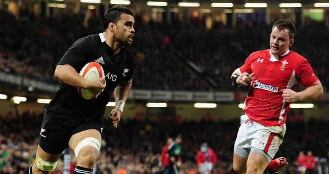 Liam Messam trots over for the opening score
