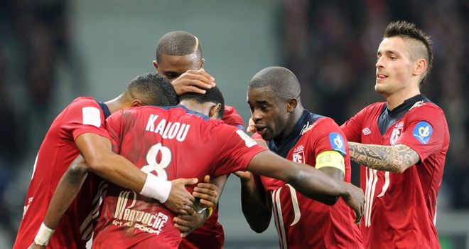 Salomon Kalou's goal was enough for Lille