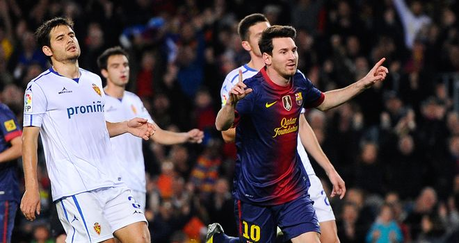 Lionel Messi: Another two goals