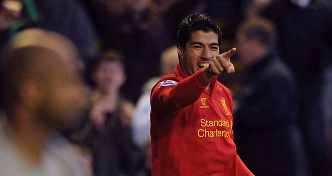 Luis Suarez: Liverpool's star striker is set to make his first away appearance in Europe this season