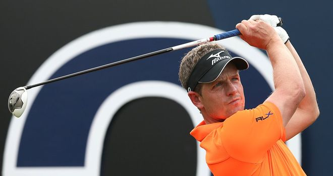 Luke Donald: 100 holes without a bogey on the Earth course