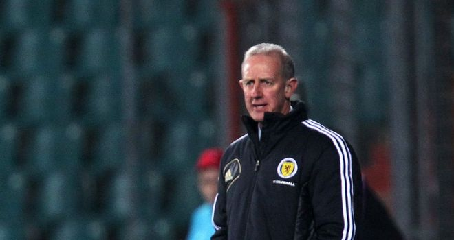 "Billy Stark: Said his Scotland U21 side had a ""point to prove"""