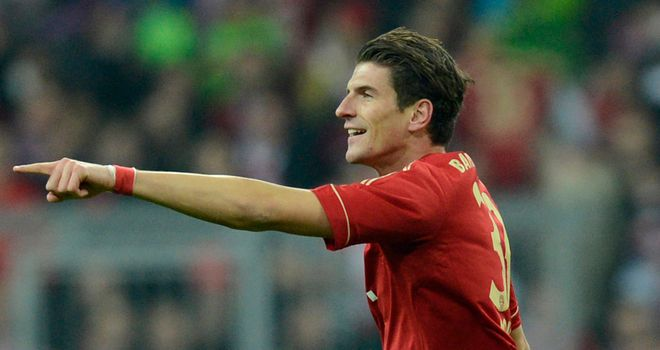Mario Gomez: Happy to see out his contract at Bayern Munich