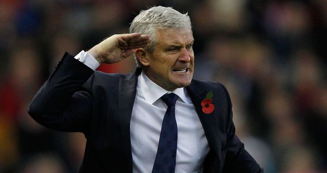Mark Hughes: Queens Park Rangers manager pleased with display against Stoke