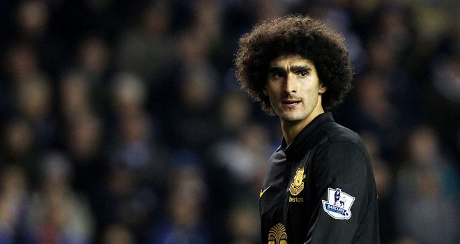 Marouane Fellaini: Has apologised after clashing with Ryan Shawcross