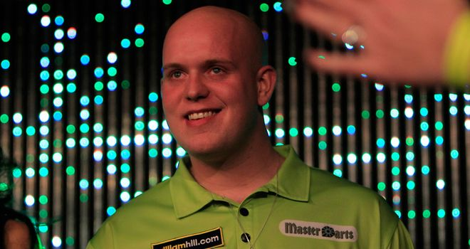 Michael van Gerwen is challenging for favouritism