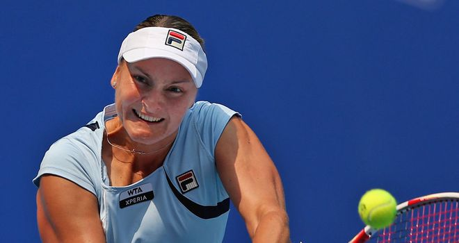 Nadia Petrova: Battled back from a set down to defeat Tsvetana Pironkova