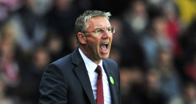 Nigel Adkins: Under pressure but has received the backing of Jack Cork