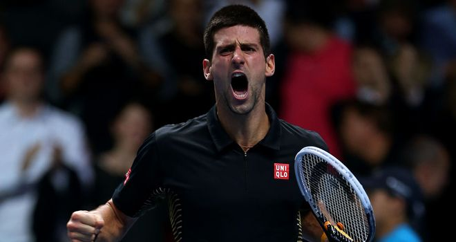 Novak Djokovic: Triumphed in the season-ending ATP World Tour finals
