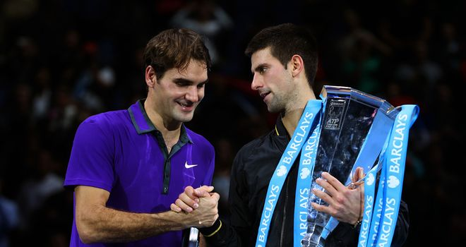 Roger Federer and Novak Djokovic will meet again in London