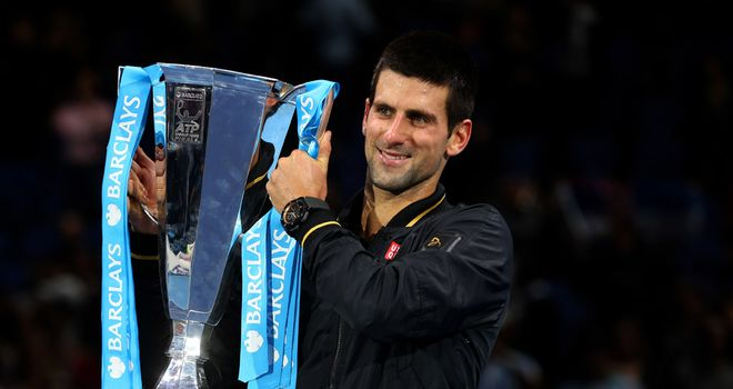 Novak Djokovic: Reigning ATP World Tour Finals champions after win in 2012