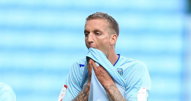 Carl Baker: Scored a brace for the Sky Blues