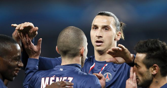 Paris Saint-Germain: Currently top of Ligue 1