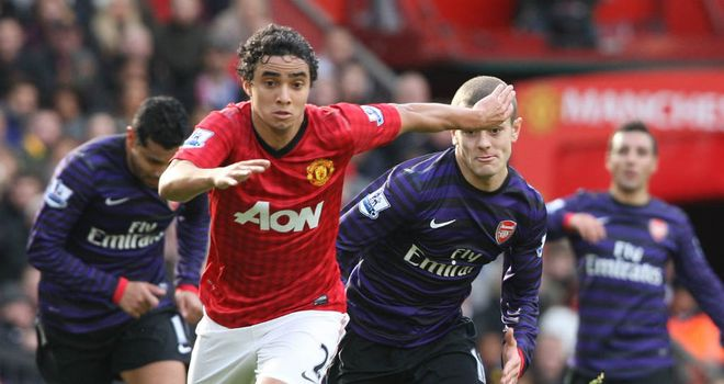 Rafael: Now a first-team regular at Manchester United