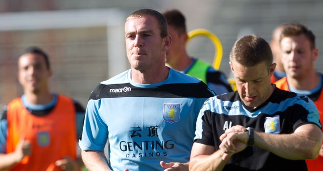 Richard Dunne: Has resumed training following two operations on a groin problem