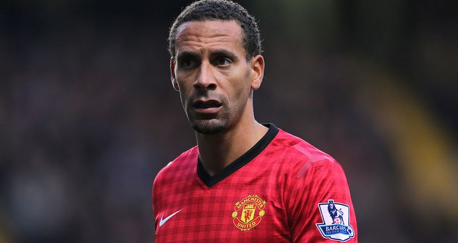 Rio Ferdinand: Manchester United defender set to be given a rest in the coming weeks