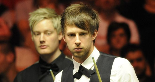 Judd Trump: Hoping to see off Neil Robertson and co at Alexandra Palace