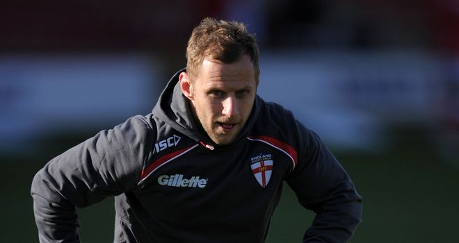 Rob Burrow: Insists harmony in the England camp is as strong as ever