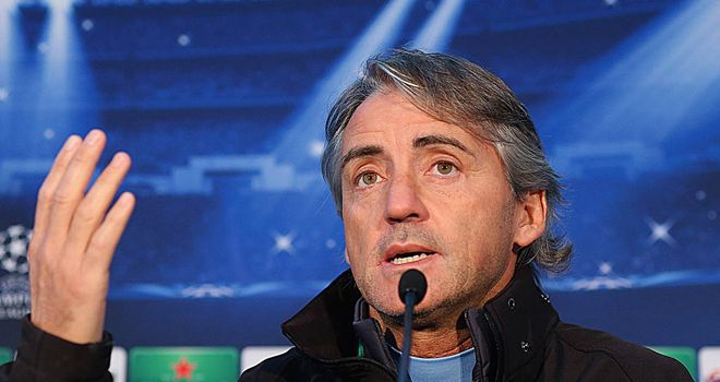 Roberto Mancini: Has warned Manuel Pellegrini that European success will be hard to achieve