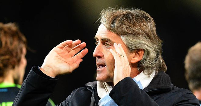 Mancini: furious with the officials