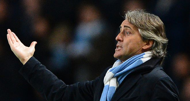 Roberto Mancini: Wants to see Manchester City posing more of a threat in the final third