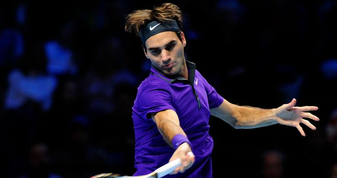Roger Federer: Dropped just four games in first match at ATP World Tour Finals