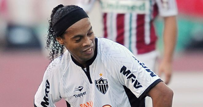 Ronaldinho: Hoping for another chance with Brazil now Luiz Felipe Scolari is in charge
