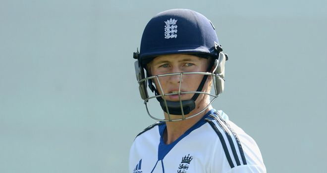 Joe Root: hit a superb hundred on the second day of the clash against the DY Patil Academy