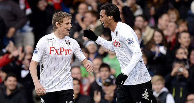 Bryan Ruiz: Says everyone in the Fulham team deserves credit after win over Tottenham