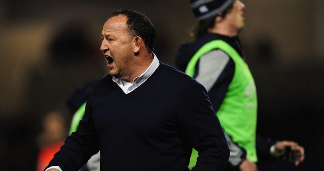 Steve Diamond had plenty say after his inexperienced team were outclassed