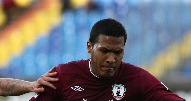 Salomon Rondon: Double for Rubin