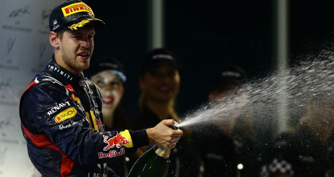 Sebastian Vettel: In pole position for third successive title