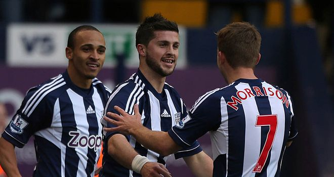 Shane Long: Proved to be a thorn in the side of Chelsea as West Brom won at The Hawthorns